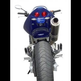 Passage de roue avec feu Hornet 600 (2003)