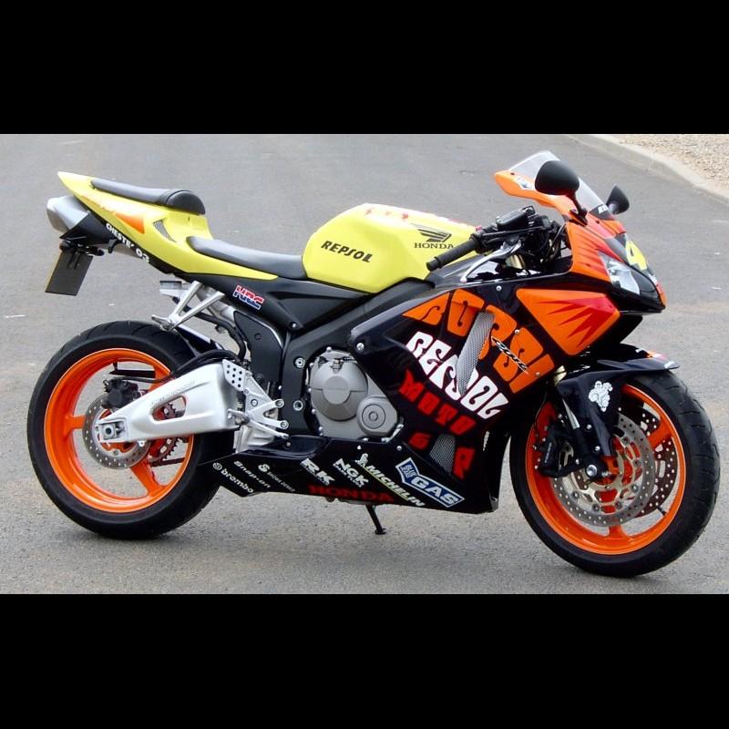 Cbr 600 Rossi Replica Designbike