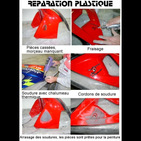Réparation plastique