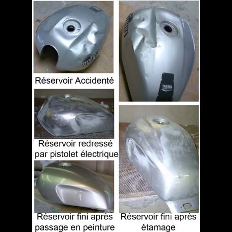 Réparation d'un réservoir