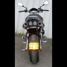 Plaque ras de roue GSR 600 (2007/2010)