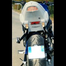 Passage de roue avec clignotants GSR 750 (2012)